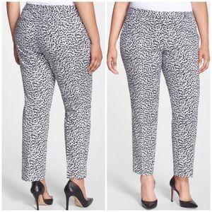 Michael Kors Leopard Print Pants Size 14W